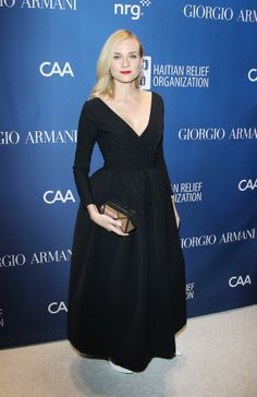Diane Kruger at the Help Haiti Home fundraiser.