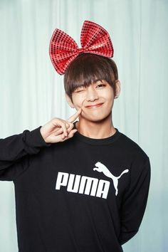 V ❤ BTS x PUMA For Valentine's Day! #BTS #방탄소년단