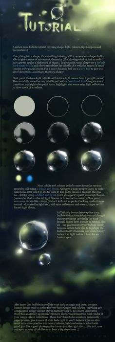 MAGIC bubble tutorial by *Apofiss on @deviantART http://Apofiss.deviantart.com/art/MAGIC-bubble-tutorial-172319836