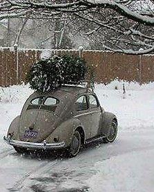 Classic VW Christmas