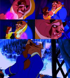 More emotion in 30 seconds of Beauty and the Beast than in 4 Twilight movies? i think yes.