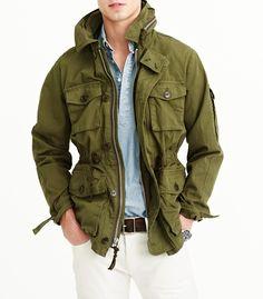 J.Crew Field Mechanic Jacket 25% Off http://www.thesalescout.com/mens-field-jacket/