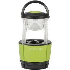 Olympia Jamlight 72-Lumen Jamlight Led Lantern With Bluetooth(R) Speaker & Microphone