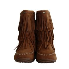 Fringe boot- perfect for the fall! Only $39.99 at www.littletrendsetter.com
