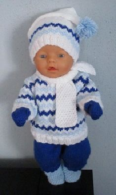 Baby Born Clothes, Knit Crochet, Crochet Hats, Baby Bjorn, Baby Dolls, Diy And Crafts, Knitting Patterns, Toys, Tejidos