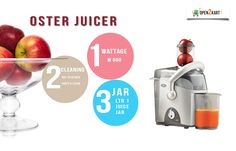 Make your work easy in kitchen with new Oster Juicer with multiple features. Shop online on http://open2kart.com/