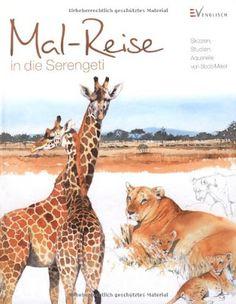Mal-Reise in die Serengeti von Bodo Meier