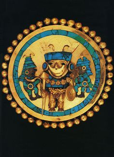 Main Ear Ornament. Lord Of Sipan Peru Travels & Tours Photos, Pictures, Images, & Reviews.