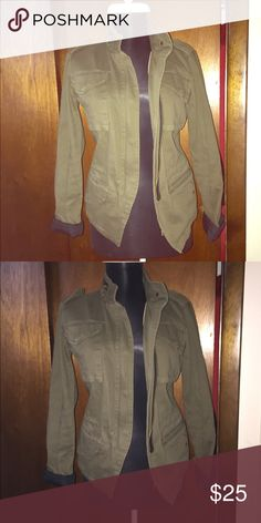 Army jacket Clearing out my closet New Year New ME! Jackets & Coats