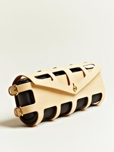 Fleet Ilya women's Harnessed Clutch from S/S 12 collection in multicolour.