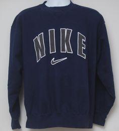 Rare 90's Vintage NIKE Sweatshirt Sz: by StandoutVintageStore