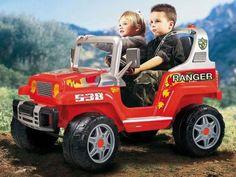Mini Carro Elétrico Infantil Ranger 538 - Emite Sons 12 Volts Peg-Pérego com as melhores condições você encontra no Magazine Tradelux. Confira!