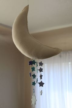 A Crafty Arab: 99 Creative Star Projects. The moon and stars were made with wool felt but …