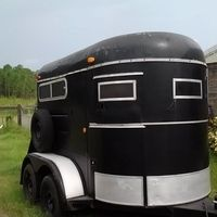 King Trailer 2 Horse Straight Load Bumper For Sale In Lake Florida HorseClicks