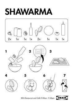 ikea by mel harvey, via Behance