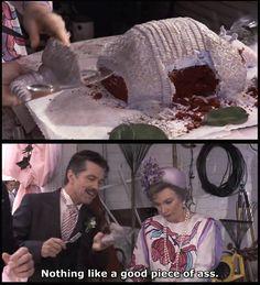 Bleeding armadillo grooms cake- best movie ever