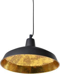 Solaris Industrial Black/Gold Pendant (Pendant light)