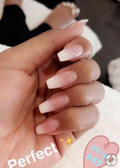 baby boomer nails | french fade acrylic nails