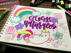 Arte Do Kawaii, Page Borders Design, School Notebooks, Cute School Supplies, Decorate Notebook, Cute Illustration, Hand Lettering, Book Art, Diy And Crafts