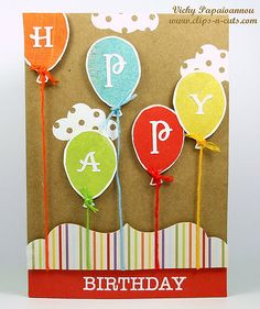 Happy Birthday | A card made for Lily Pad Cards 1st Annivers… | Flickr