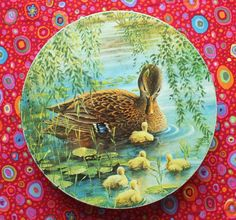 Rare Vintage Peek Frean DUCK & DUCKLINGS by ExquisitelyArty