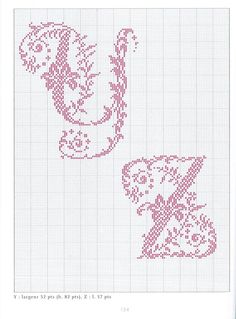 Gallery.ru / Фото #67 - belles lettres au point de croix - moimeme1