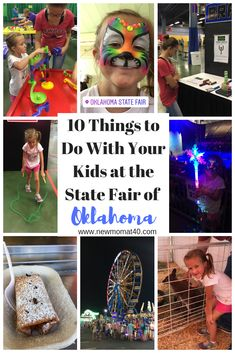 There is always something for everyone to do, and I love all the fantastic food they have to offer! I decided to create a list of the Top 10 things to do with Kids at the State Fair of Oklahoma. Traveling With Baby, Travel With Kids, Family Travel, Traveling By Yourself, Big Family, Infant Activities, Family Activities, Disney On Ice, Done With You