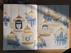 The Unfinished Sketchbook Illustrations, Illustration, Illustrators