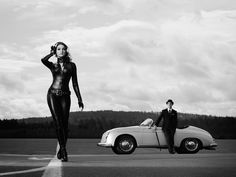 Cars & Girls: Porsche 356 Speedster & Dejana