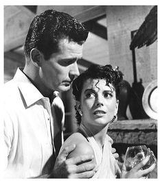 NATALIE WOOD & JAMES GARNER (1960)