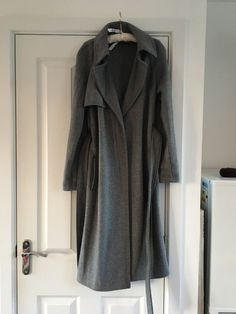 M and S grey wool coat this season size 8 sold out  | eBay £40.00 (1B) +7.29PP
