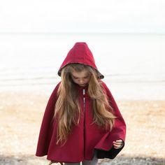 Little Red Riding Hood Cape - Twig + Tale  - Digital PDF Download - 1