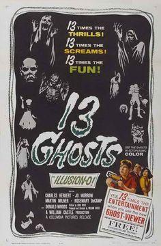 13 Ghosts (1960) - William Castle DVD