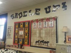 Another year, another theme! This year, our graders are going to be excited to be in class with a WESTERN theme! Western Theme, Classroom Themes, School Ideas, Westerns, Classroom Ideas