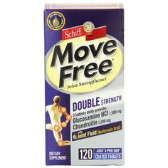 Schiff Vitamins Move Free Double Strength 120 Tablets