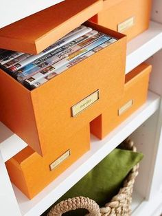 <b>Time to get your life together!</b> These are the quick, cheap tips that don't entail remodeling or custom-building expensive furniture pieces to gain precious storage space.