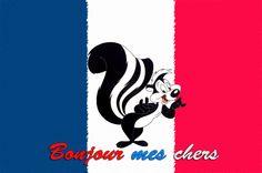 Pepe Le Pew France Wallpaper by policezombie.deviantart.com on @deviantART