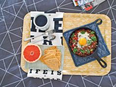 Cowboy Breakfast Skillet - Easy Fathers Day Recipe>> http://www.hgtv.com/holidays-and-entertaining/easy-fathers-day-recipes-cocktails/pictures/index.html?soc=pinterest