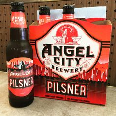 Angel City Brewery Pilsner - 12oz - 6pk Best Beer, Brewery, Angel, Canning, City, Crafts, Inspiration, Biblical Inspiration, Manualidades