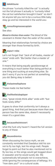 Quotes in all their glory