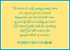 Week One - Online book and bible study - don't miss it!