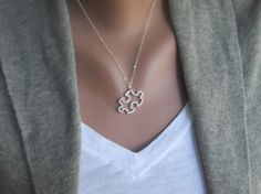 I like the idea of this necklace to represent many things like Autism Awareness