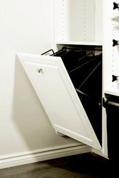 Wire Laundry Hamper, Slanted Hook-On (Hangs on Tilt-Out Door) - in the Häfele America Shop