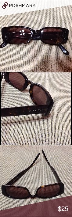 Nice Tortoise Shell Ralph Lauren sun glasses 💯♨️ In excellent condition. I have a case for them but it isn't a Ralph Lauren case. Ralph Lauren Accessories Glasses