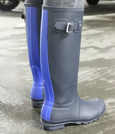 Striped Hunter Boots