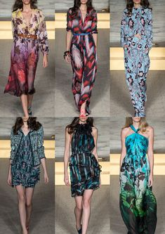 London Womenswear Print Highlights Part 1 – Spring/Summer 2015 catwalks  Matthew Williamson S/S 15