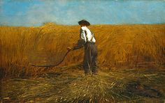 Winslow Homer: The Veteran in a New Field, 1865 - Google Search