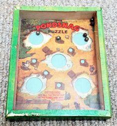 Vintage Pondsnag Dexterity Puzzle Game R. Puzzle Games, Game R, Puzzles, Palm, Vintage, Puzzle, Riddles, Vintage Comics, Primitive