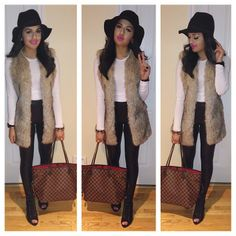 Loose the hat. Add Chelsea boots and its major cute
