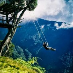 """Swing at the """"End of the World""""?"""